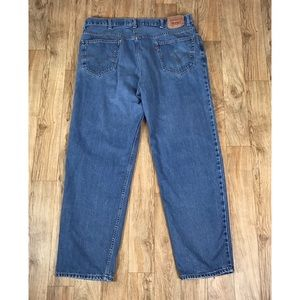 Levi's 550 42x34 Relaxed Fit Jeans